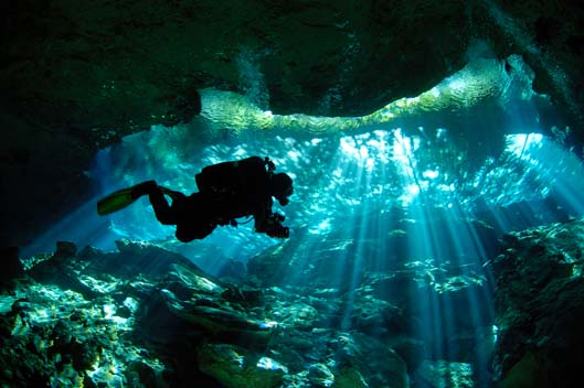 Underground Lakes: Swimming in the Cenotes of Mexico