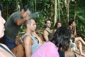 Ayahuasca ceremony