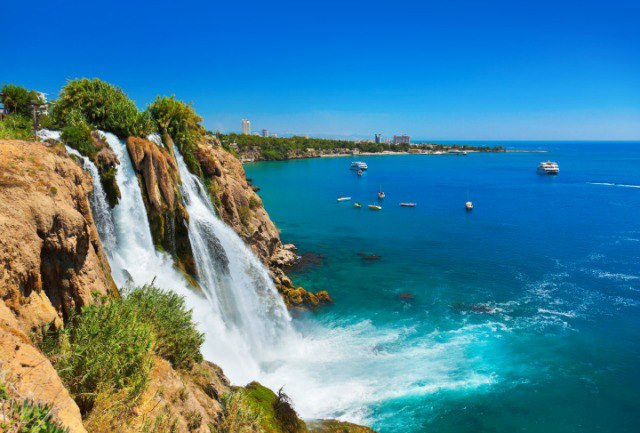 Antalya-Duden-Waterfalls