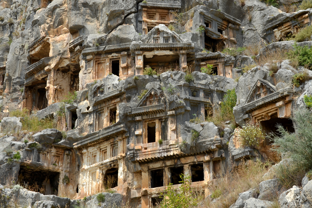 Antalya-myra-rock-tombs
